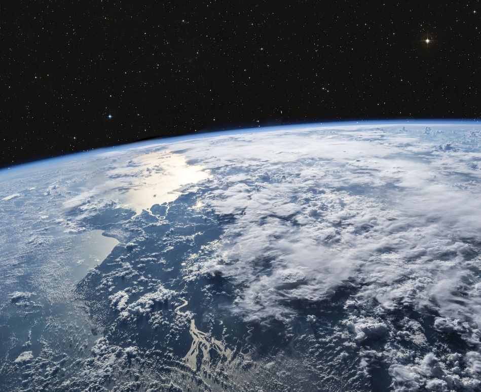 Clouds viewable from Space